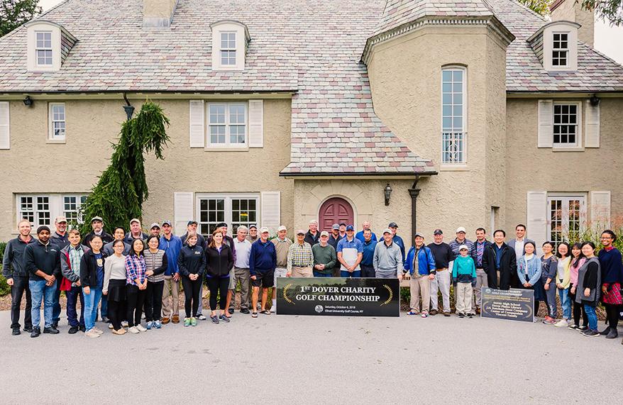 Olivet University Dover Hosts Golf Charity Event