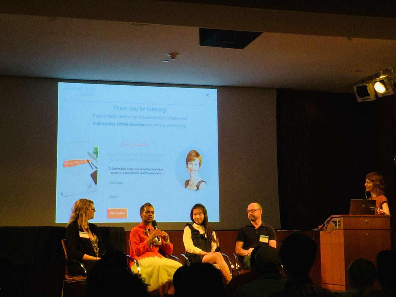 OBS Faculty Attends Event for Small Businesses: Succeeding as a Creative Entrepreneur in NYC