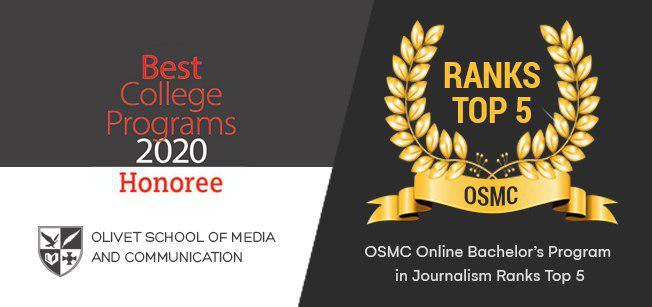 OSMC's Online Bachelor's Program in Journalism Ranks Top 5 in America