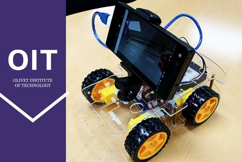 Olivet Institute of Technology AI Lab Prototypes Smart Robot Car
