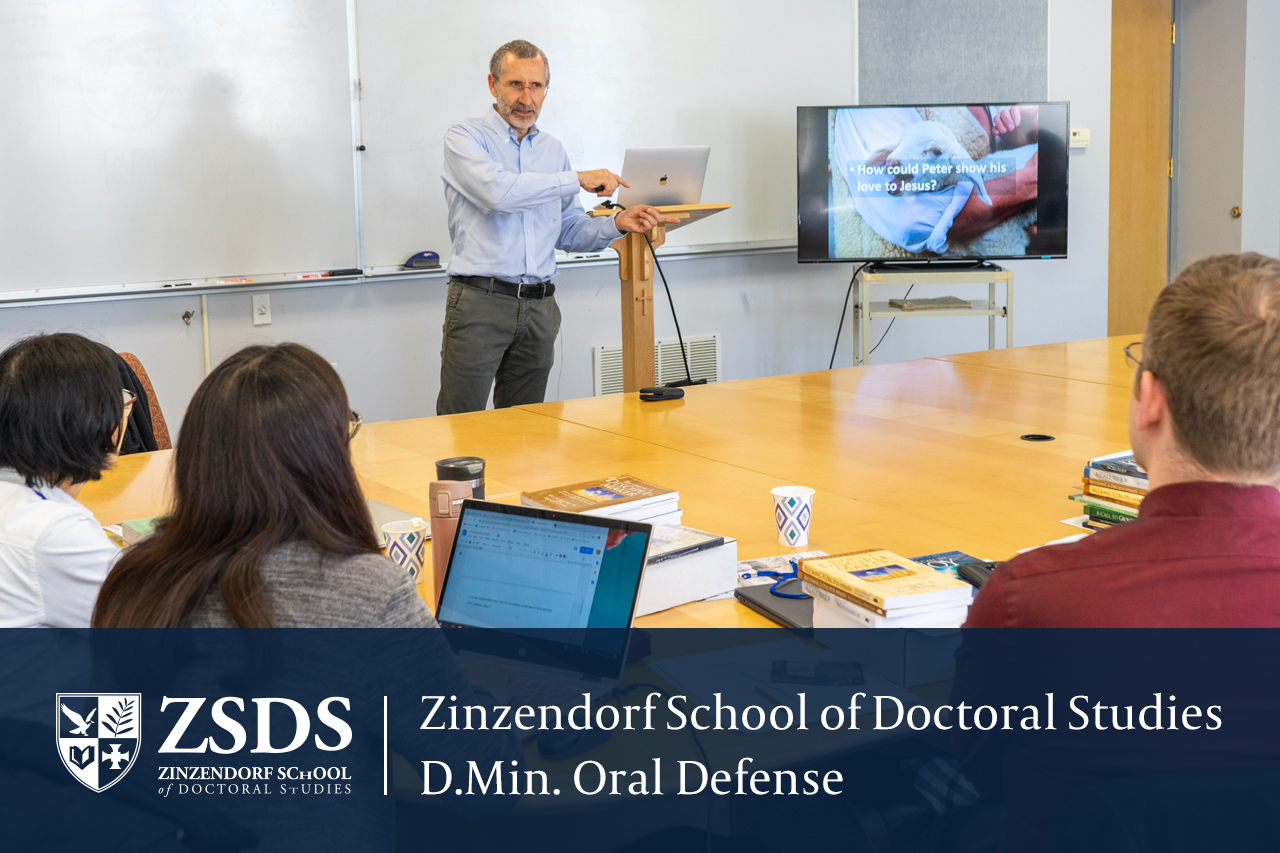 Doctoral Candidates Ready to Graduate with the Passing of Oral Defenses