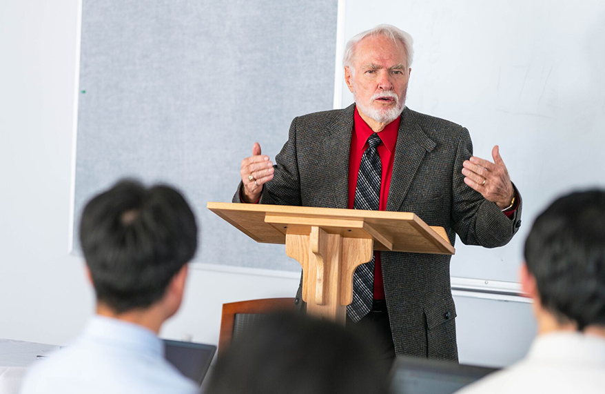 Doctoral Professors Engage Students with Colloquium Lectures