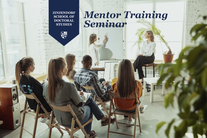 Zinzendorf School of Doctoral Studies Convenes Mentor Training Seminar